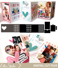 Love You Accordion Mini Album Cut File