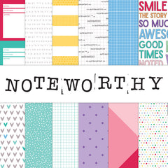 Noteworthy - 12 x 12 paper collection