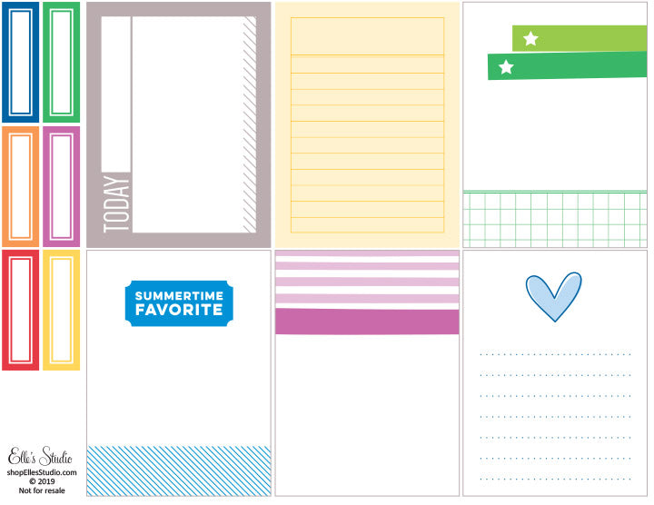 Summertime Favorite Printables