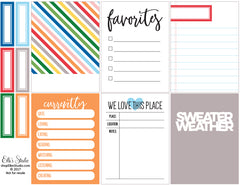 Sweater Weather Printables