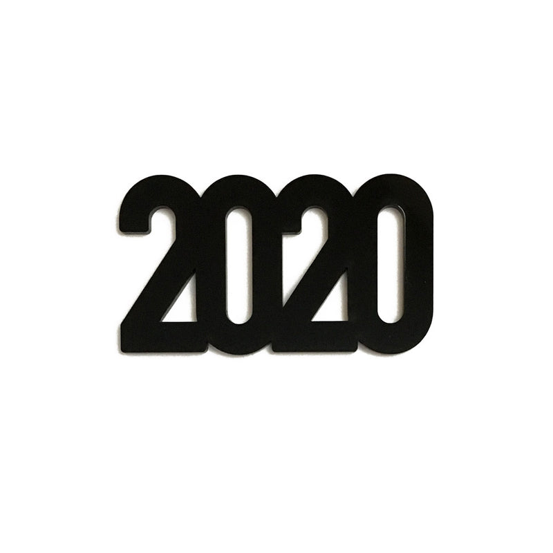 Small 2020 Black Acrylic