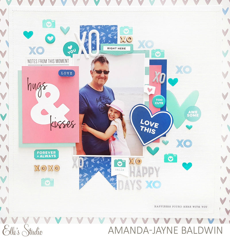 Heart and Star Acetate Die Cuts