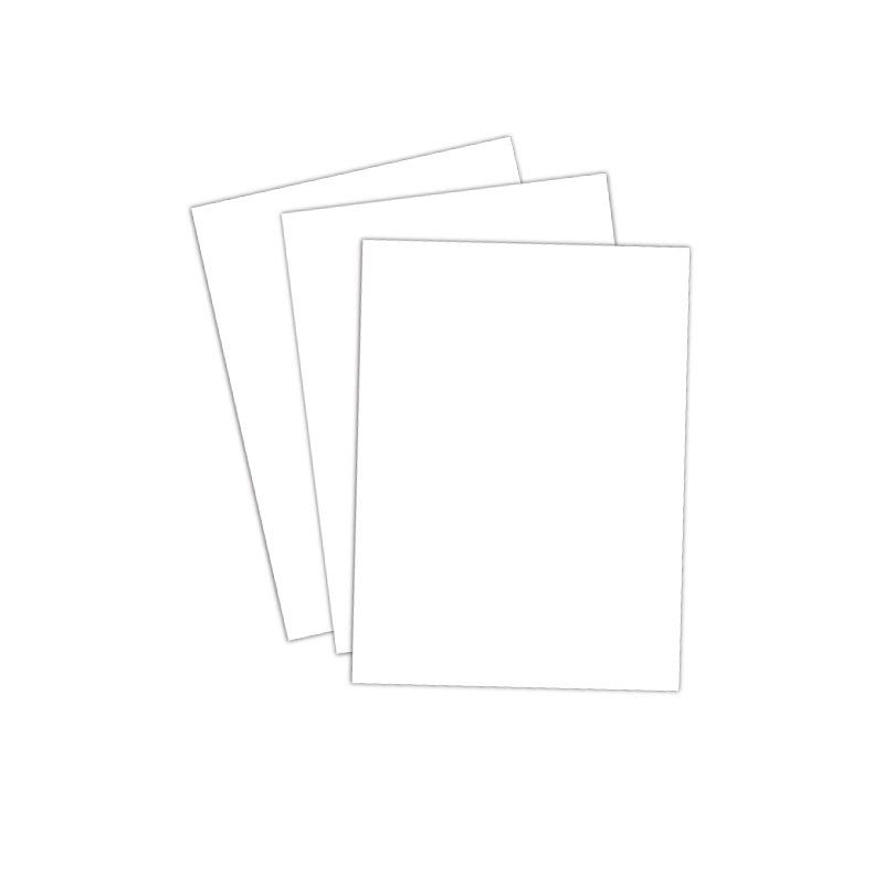 20 Blank Cardstock 3 x 4 Tags