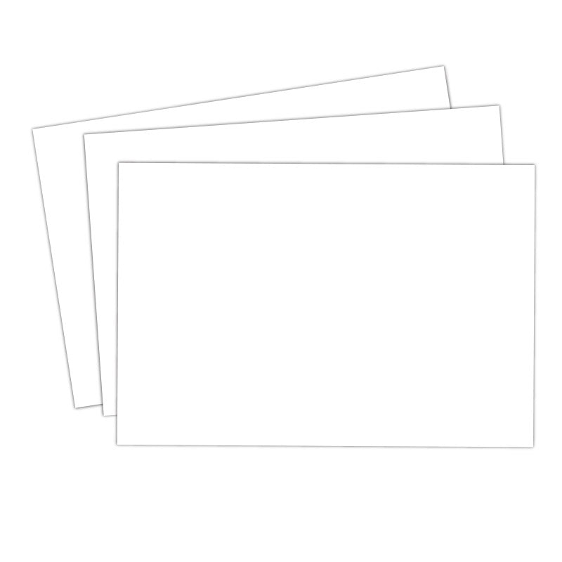 10 Blank Cardstock 4 x 6 Tags