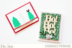 Wood veneer Holiday Phrases