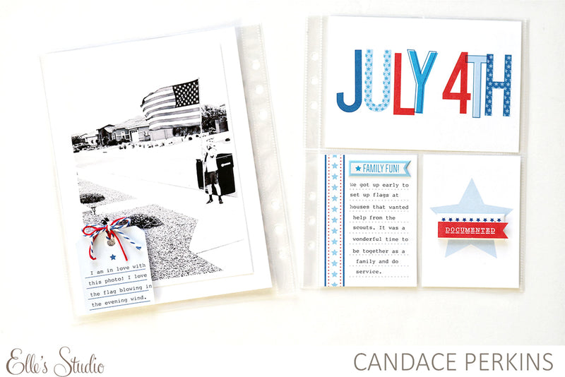 4th of July Journaling Tags