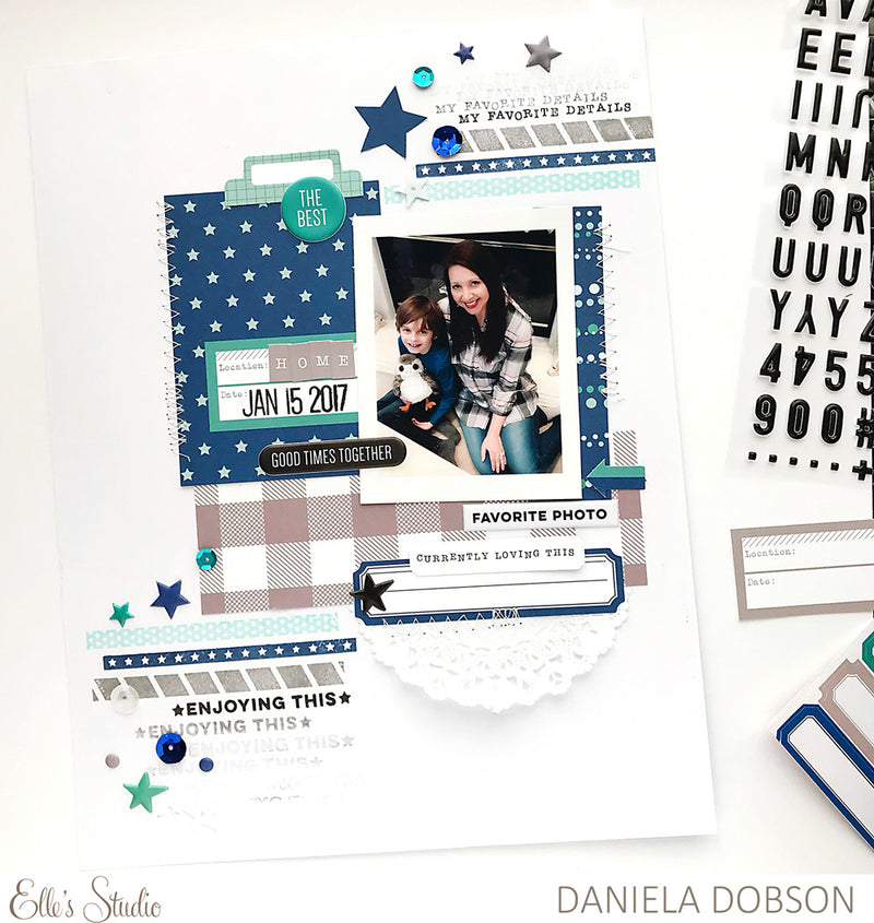 Wonder and Joy stamp