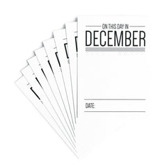 On This Day in December Journaling Tags