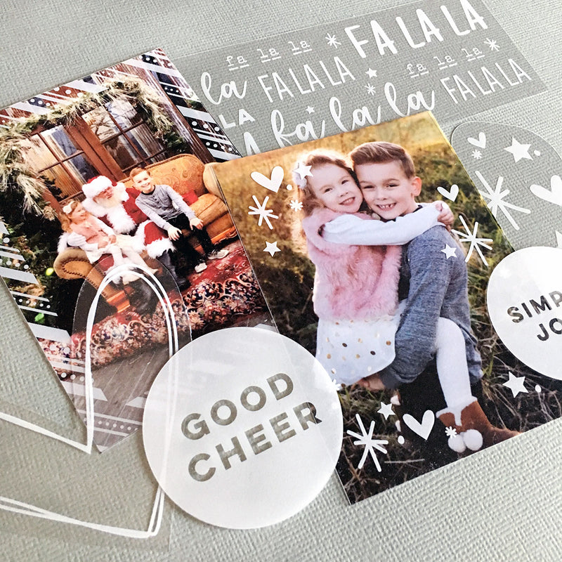 Good Cheer Acetate Die Cuts