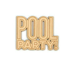 Pool Party Wood Veneer
