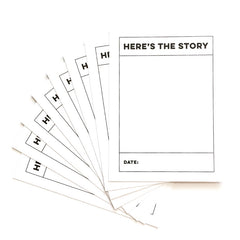 Here's The Story Journaling Tags