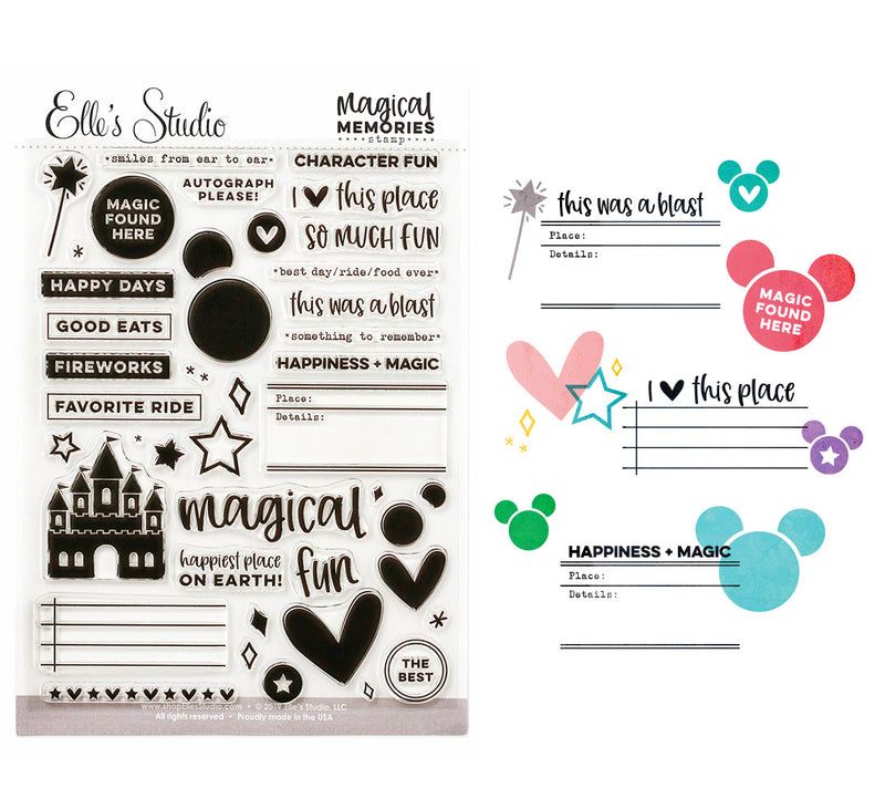 PRE-ORDER: Magical Memories Stamp