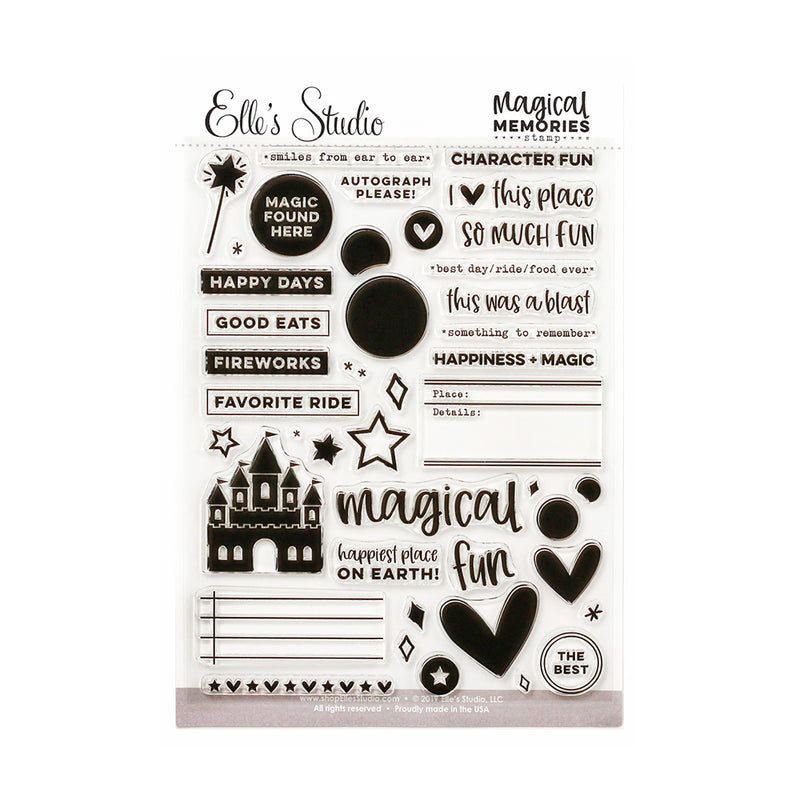 Magical Memories Stamp