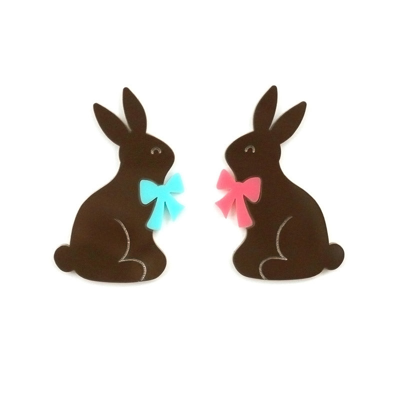 Chocolate Acrylic Bunnies