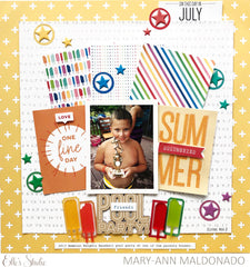 On This Day in July Journaling Tags