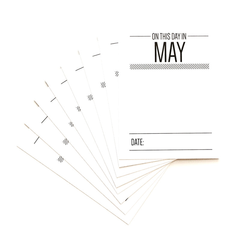 On This Day In May Journaling Tags