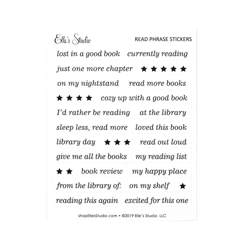 Read Phrase Stickers
