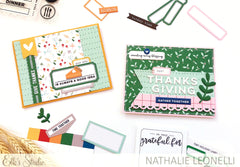 Tiny Holiday Blank Label Stickers