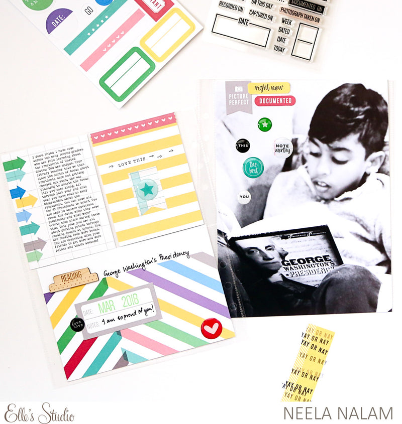Noteworthy - Double-sided Journaling Tags