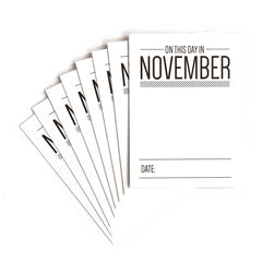 On This Day in November Journaling Tags