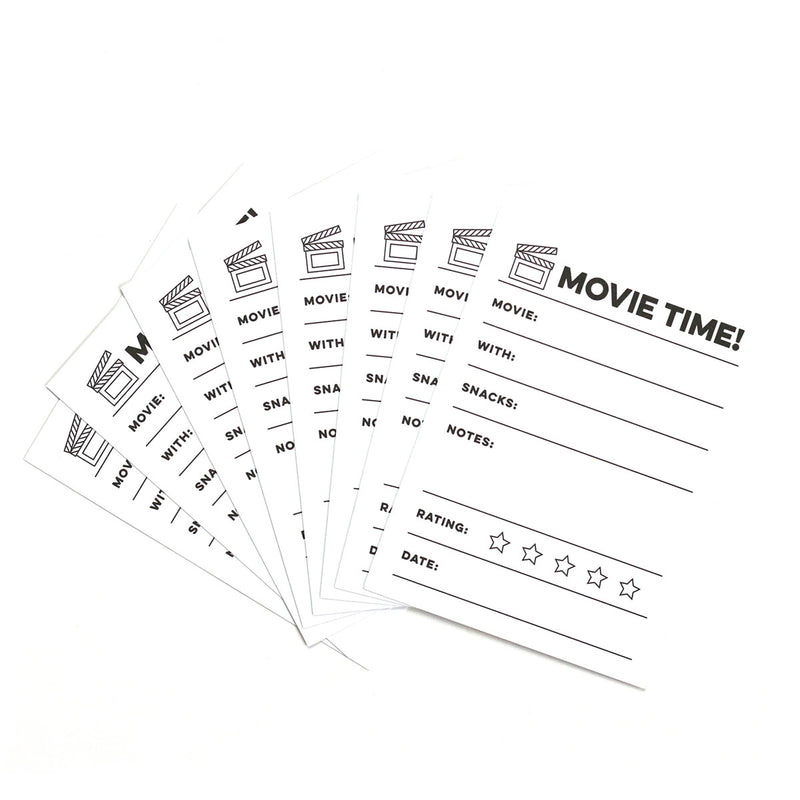 Movie Time Journaling Tags