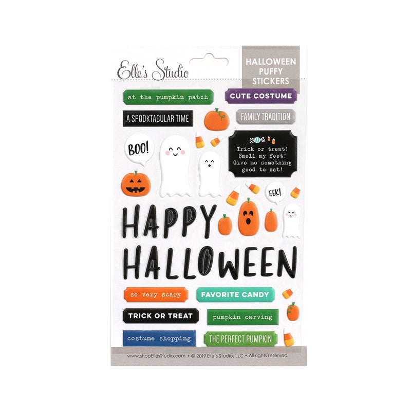 Halloween Puffy Stickers