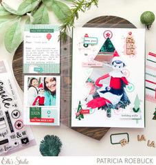 Christmas Die Cut Labels