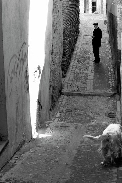 Calle Cristo la Calavera (Toledo, Spain, 2007)26.0cm x 39.0cm, 10.2inches x 15.4inches - Documentary Photography Gallery