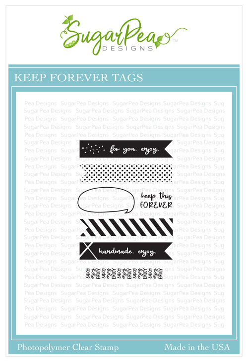 Keep Forever Tags