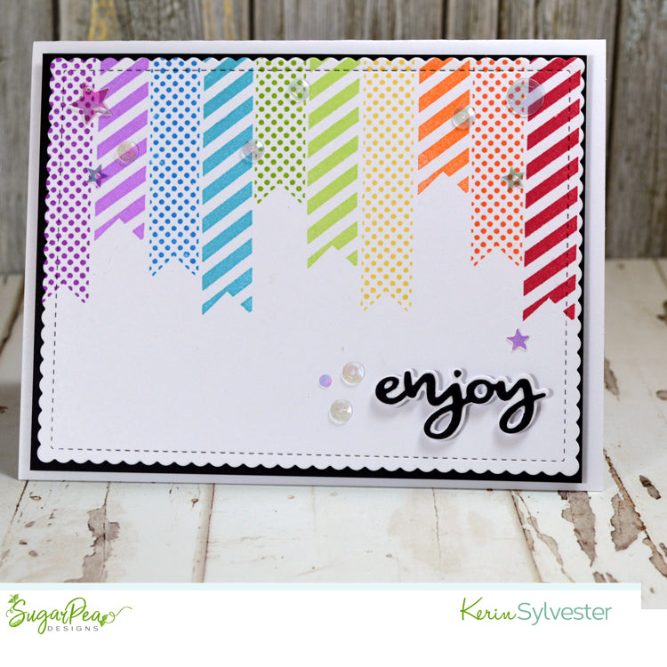 SugarCut - Enjoy Tag Set