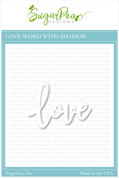 Love Word With Shadow