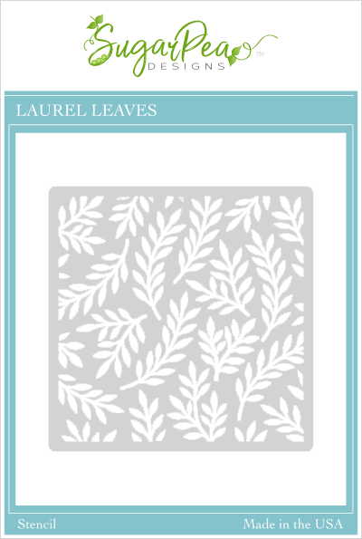 Laurel Leaves Stencil