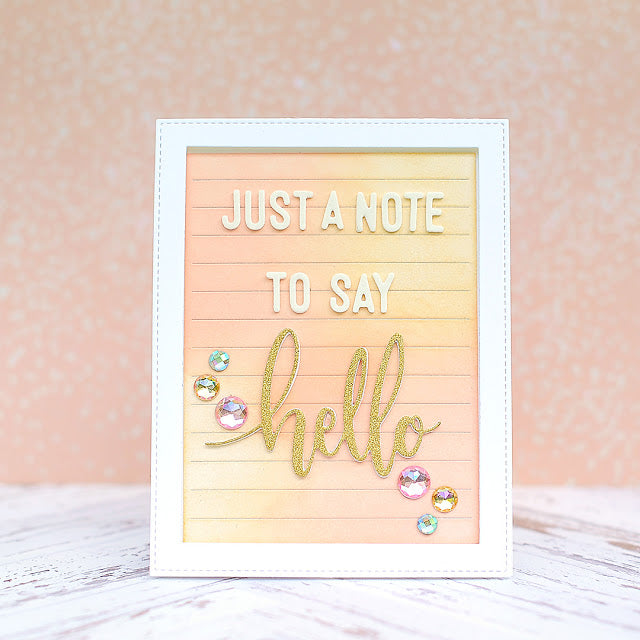 SugarCut - Letter Message Board