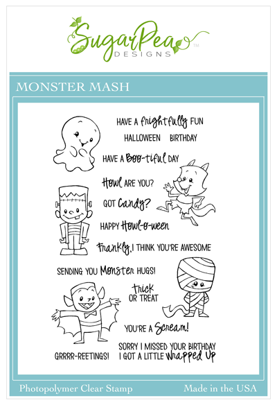 SPD Monster Mash Stamps
