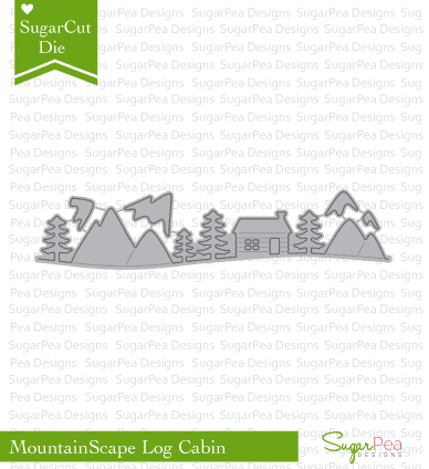 SugarCut - Log Cabin Mountainscape