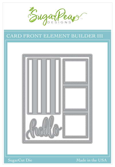 SugarCut - Card Front Element Builder III
