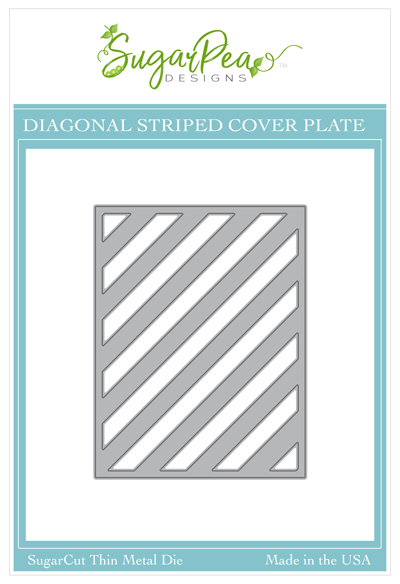 SugarCut - Diagonal Striped CoverPlate