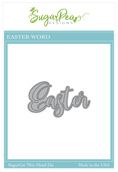 SugarCut - Easter Word