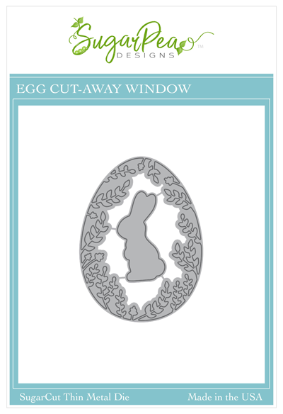 SugarCut - Egg Cut-Away Window Die