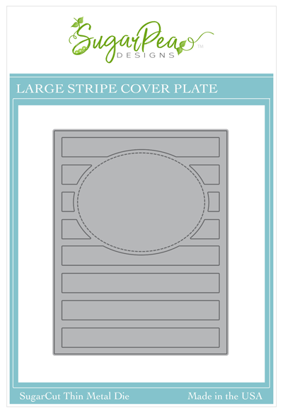 SugarCut - Large Striped CoverPlate