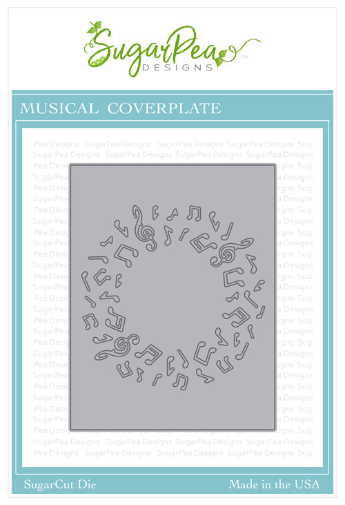 Sugarcut - Musical Cover Plate