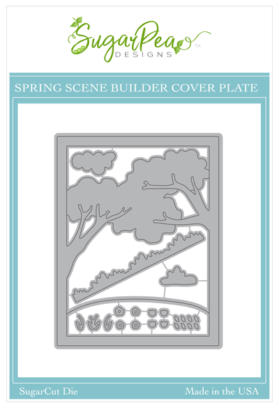 SugarCut - Spring Scene Builder Cover Plate