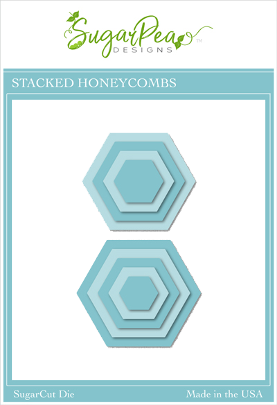 SugarCut - Stacked Honeycombs