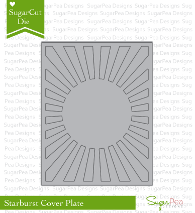 SugarCut - Starburst Cover Plate
