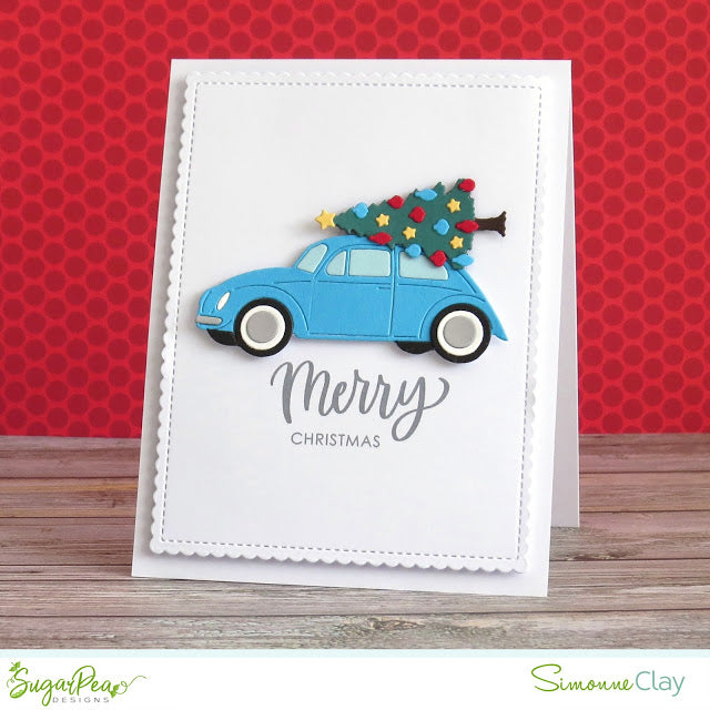 SugarCut - Christmas Car