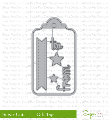 SugarCut - Gift Tag Die