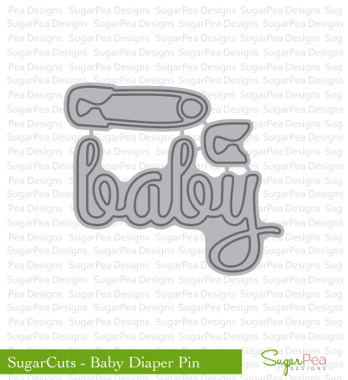 SugarCut - Baby Diaper Pin