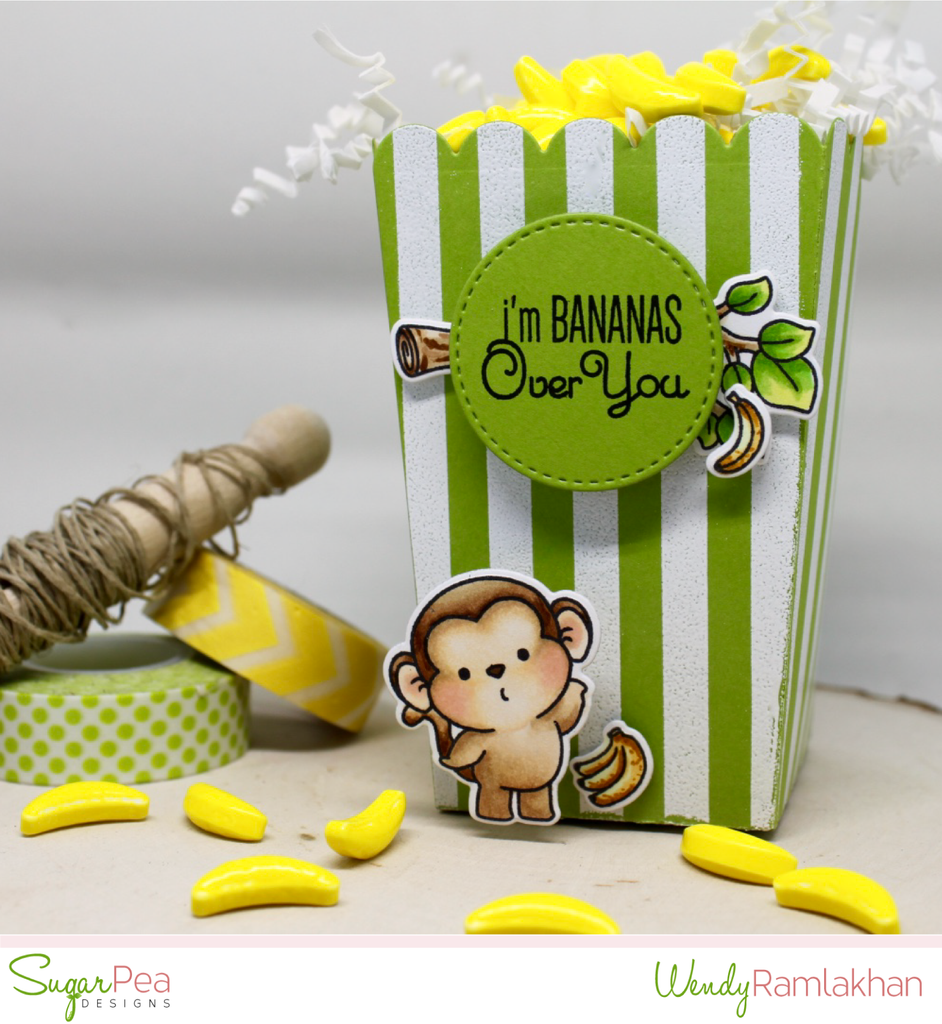 SugarCut - Popcorn Treat Box