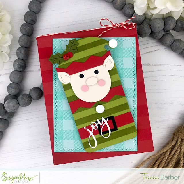 SugarCut - Pocket Tag Christmas Characters