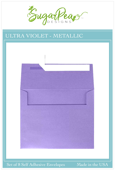 Ultra Violet Metallic Envelopes